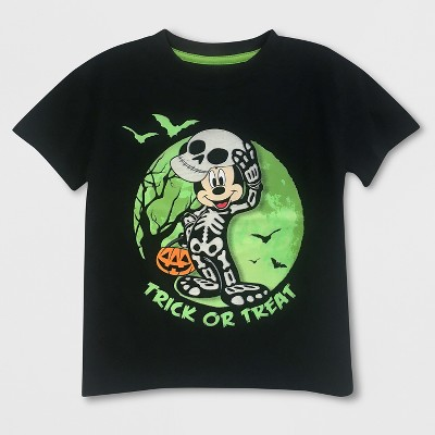 Toddler Boys' Disney Mickey Mouse & Friends Mickey Mouse Short Sleeve T-Shirt - Black 4T