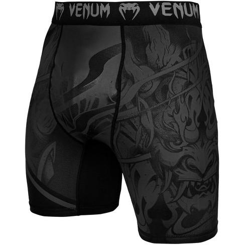 Venum Devil MMA Compression Shorts - Black/Black - image 1 of 4