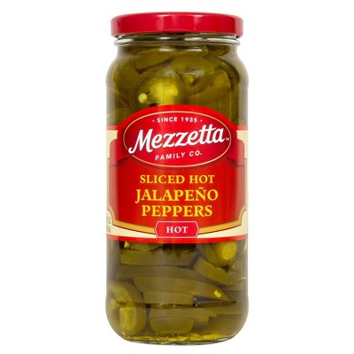 Mezzetta Deli-Sliced Jalapeno Peppers - 16oz