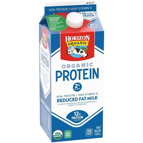 Horizon Organic Protein 2% Milk - 0.5gal - image 1 of 1