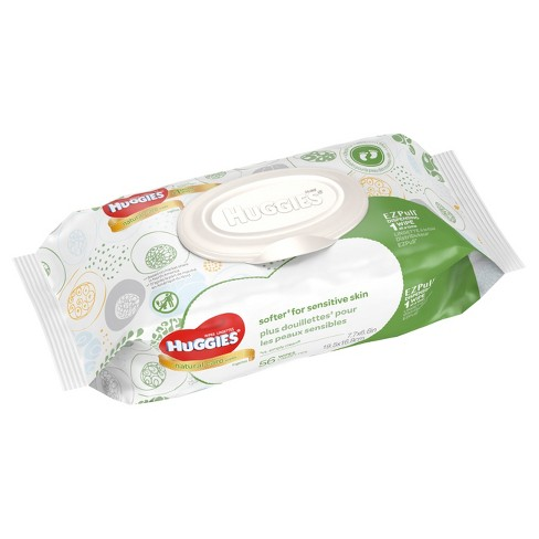 Huggies Natural Care Baby Wipes Unscented 56ct Target