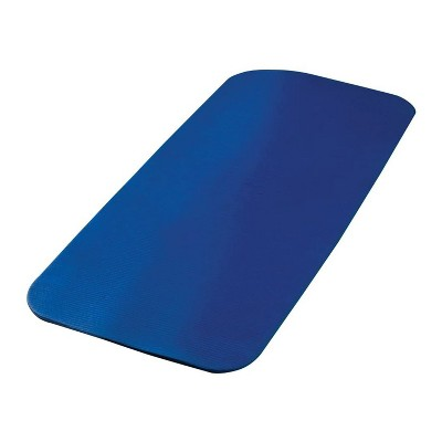 Airex 32-1240B Fitline 120 Workout Exercise Fitness Non Slip 0.6 Inch Thick Foam Floor Mat Pad for Yoga or Pilates at Home or Gym, Blue