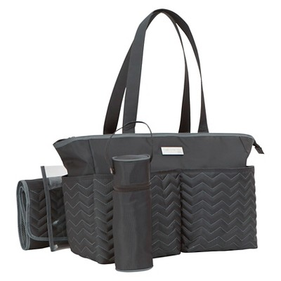 Baby Chevron Diaper Bag - Just One You™ Made by Carter's® Gray