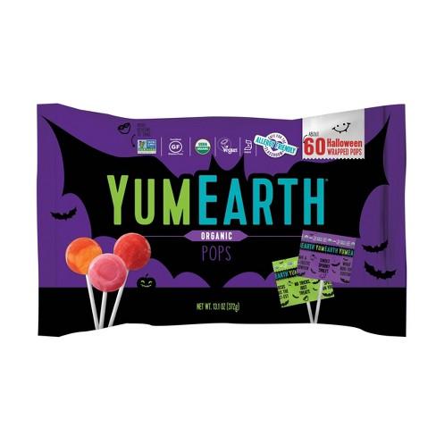 Yum Earth Halloween Organic Fruit Pops -13.1oz/60ct - image 1 of 4
