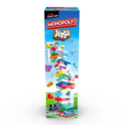Game Mashups Monopoly Jenga Game (Target Exclusive)