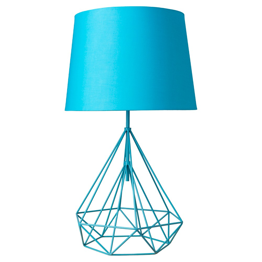 Phineas Table Lamp Aqua (Blue) (Lamp Only) - Surya
