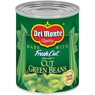Del Monte Fresh Cut Green Beans 28oz.