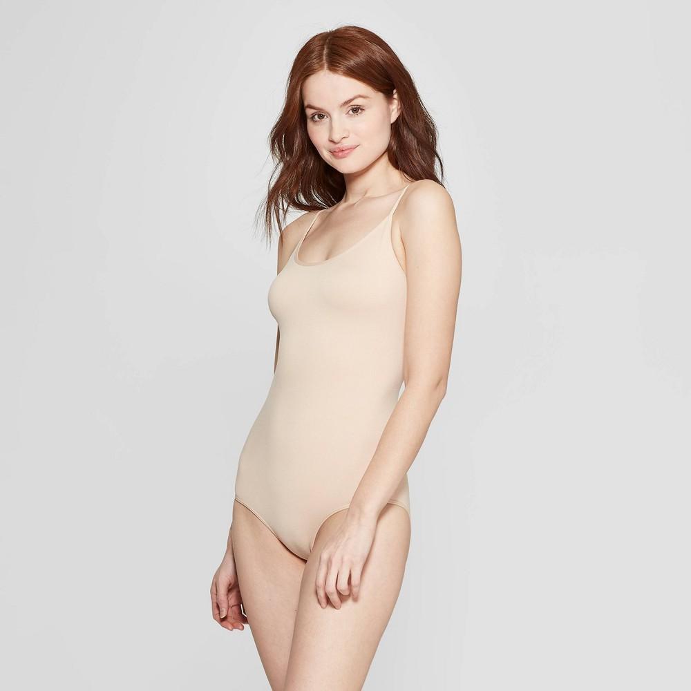 Image of Women's Bodysuit - Auden Soft Beige L, Size: Large