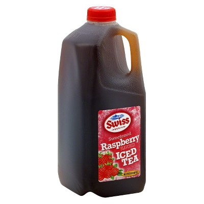 Swiss Sweetened Raspberry Iced Tea - 0.5gal