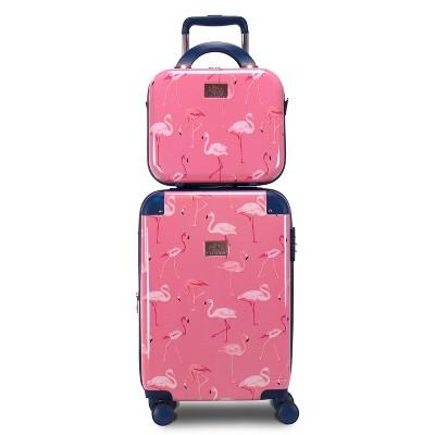 Chariot Travelware CHP-903 Flamingo 2pc Luggage Set