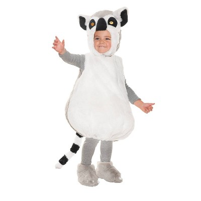 Toddler Ring Tail Lemur Halloween Costume