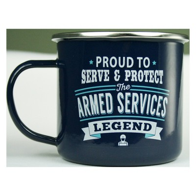 Armed Services Mug - History & Heraldry
