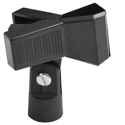 Monoprice Universal Microphone Clip | Mount Your Handheld Microphone, Mic Angle is Adjustable