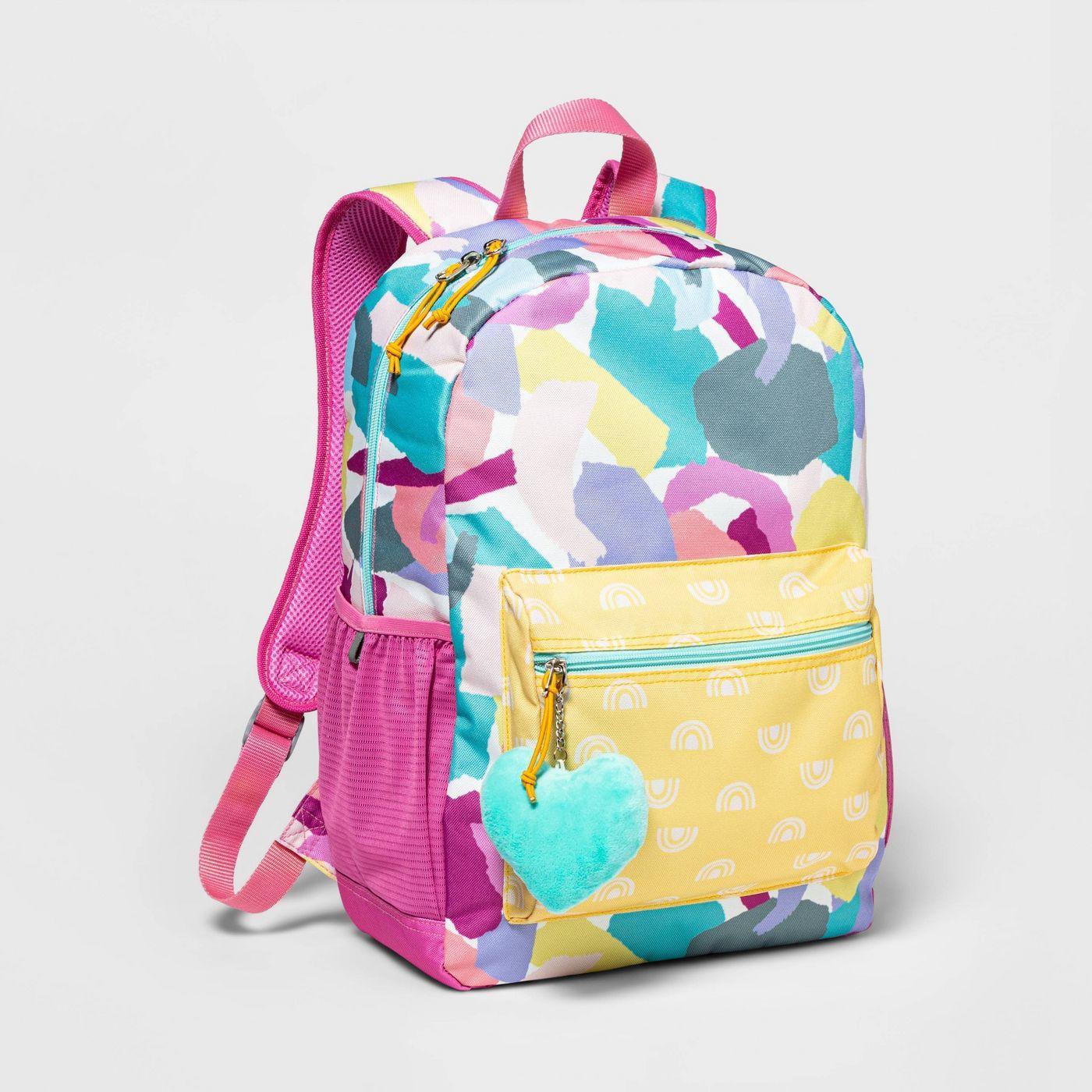 "16.5"" Kids' Backpack Crayon Print - Cat & Jack™ - image 1 of 3"