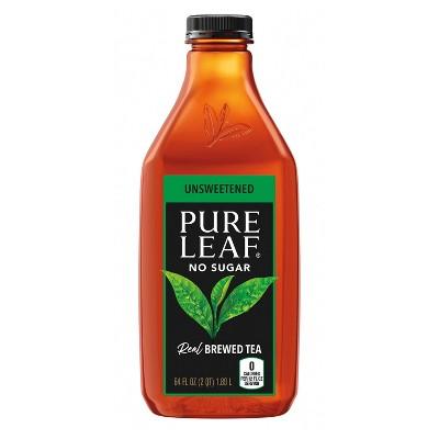 Pure Leaf Unsweetened Iced Tea - 64 fl oz Bottle
