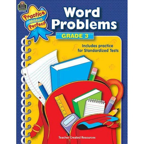 Word Problems Grade 3 - (Mathematics) (Paperback) - image 1 of 1