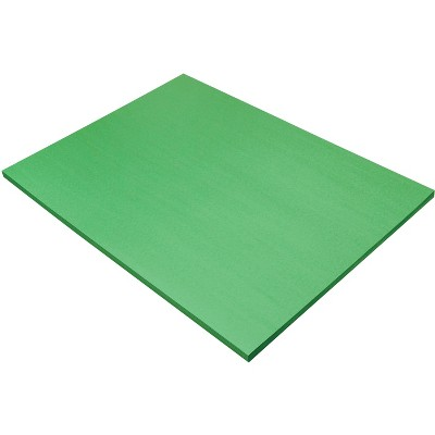 SunWorks Heavyweight Construction Paper, 18 x 24 Inches, Holiday Green, 50 Sheets