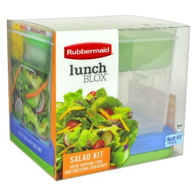 Rubbermaid LunchBlox Salad Container Kit