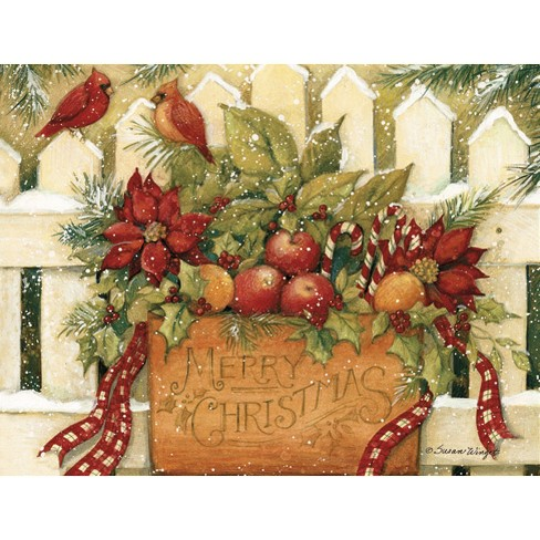 18ct Merry Christmas Welcome Holiday Boxed Cards - image 1 of 1