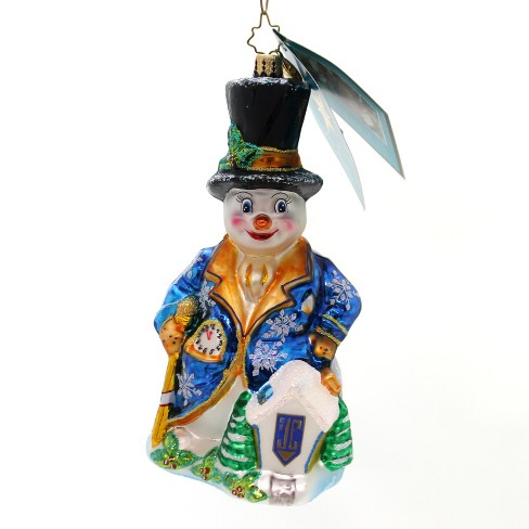 Christopher Radko Home In My Heart Janathan Club Ornament Christmas Snowman 2006 - image 1 of 2