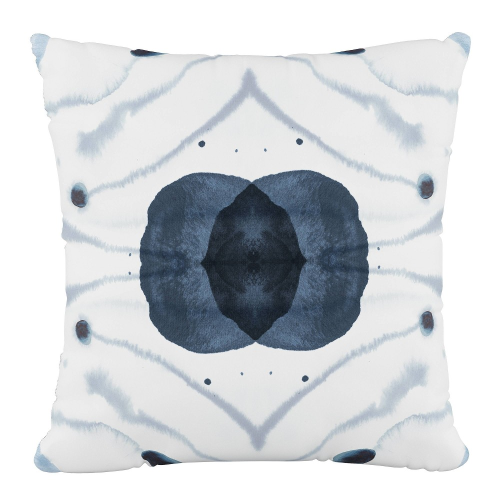 Delray Outdoor Throw Pillow Blue Skyline Furniture