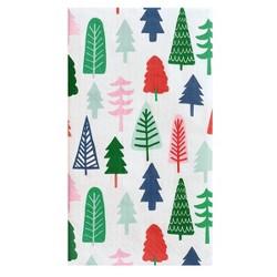 30ct Merry & Bright Rectangular Tree Napkins - Spritz™