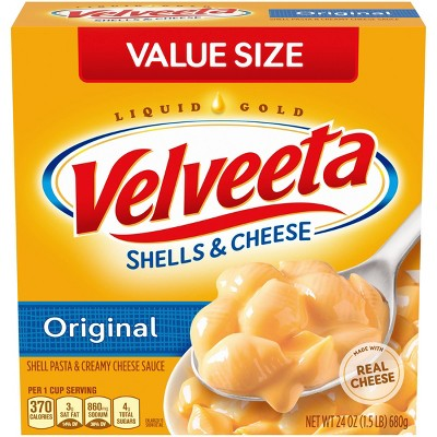 Velveeta Family Size Shells & Cheese Original Flavor - 24oz