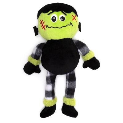 The Worthy Dog Buffalo Frankenstein Toy - Black - One Size