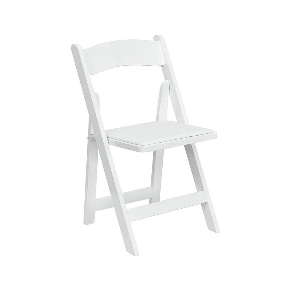 Riverstone Furniture Collection Folding Chair White