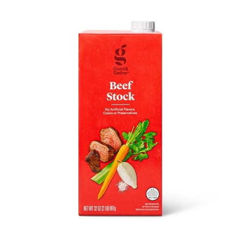 Beef Stock - 32oz - Good & Gather™ - image 1 of 3