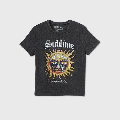 Women's Sublime Short Sleeve Graphic T-Shirt - Charcoal Heather