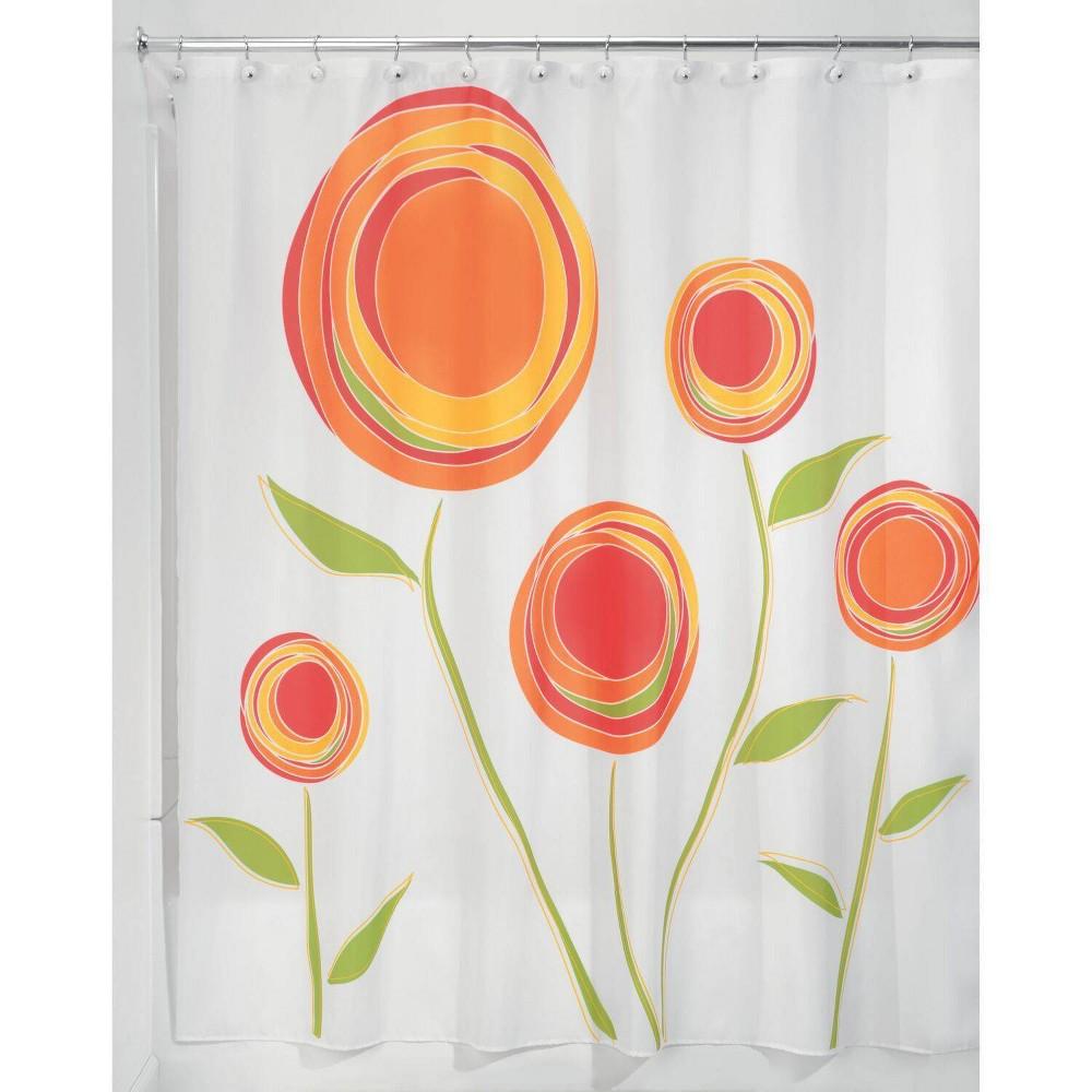 Image of InterDesign Marigold Polyester Shower Curtain