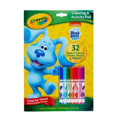 Crayola 32pg Blue's Clues & You! Coloring & Activity Pad