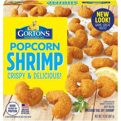 Gorton's Crunchy Breaded Popcorn Shrimp - Frozen - 14oz