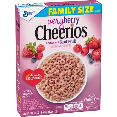 Breakfast Cereal: Cheerios