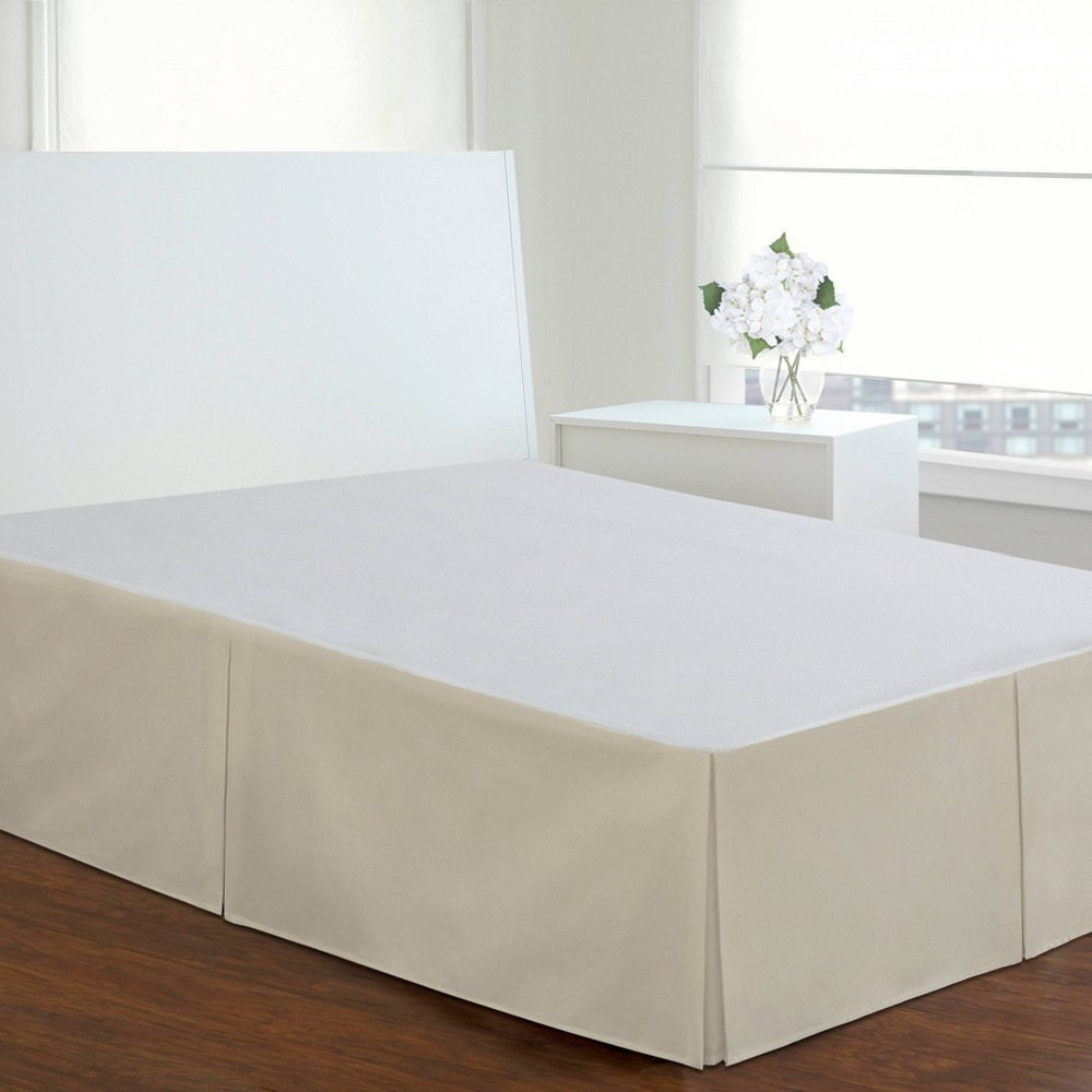 Ivory Tailored 14 Bed Skirt Queen Levinsohn