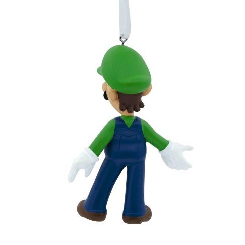 Hallmark Nintendo Mario Brothers Luigi Christmas Ornament : Target