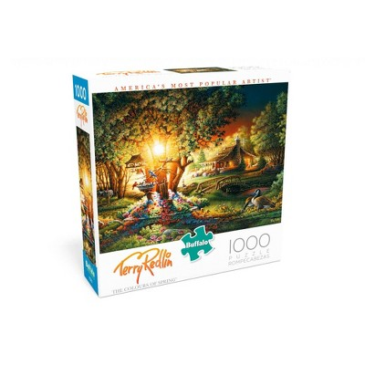 Buffalo Games Terry Redlin: The Colours of Spring Jigsaw Puzzle - 1000pc