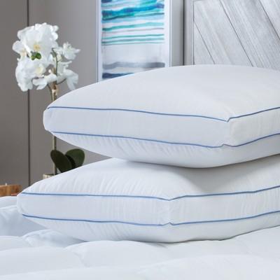 SensorPEDIC MemoryLOFT Deluxe Gusseted Pillow with Memory Foam Core - 2 Pack