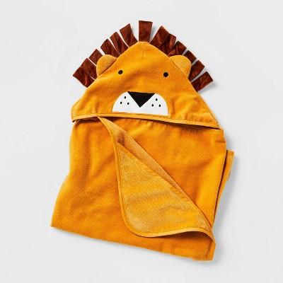 "25""x50"" Lion Hooded Towel - Pillowfort™"