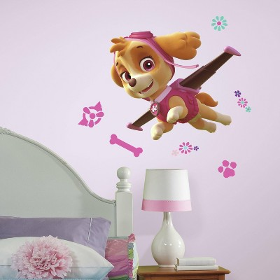 Paw Patrol Skye Peel and Stick Giant Wall Decal - RoomMates