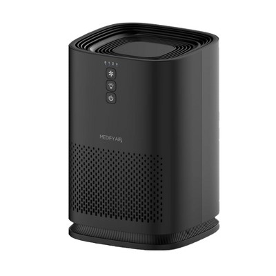 Medify Air MA-14 Compact Portable Tabletop Indoor Home Personal Air Purifier with Medical Grade True H13 HEPA Filter for 200 Square Foot Rooms, Black