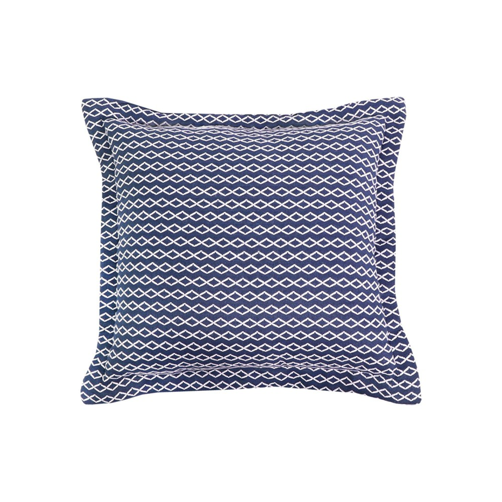 Outdoor Deep Seat Pillow Back Duraseason Fabric 8482 Canby Navy Threshold 8482