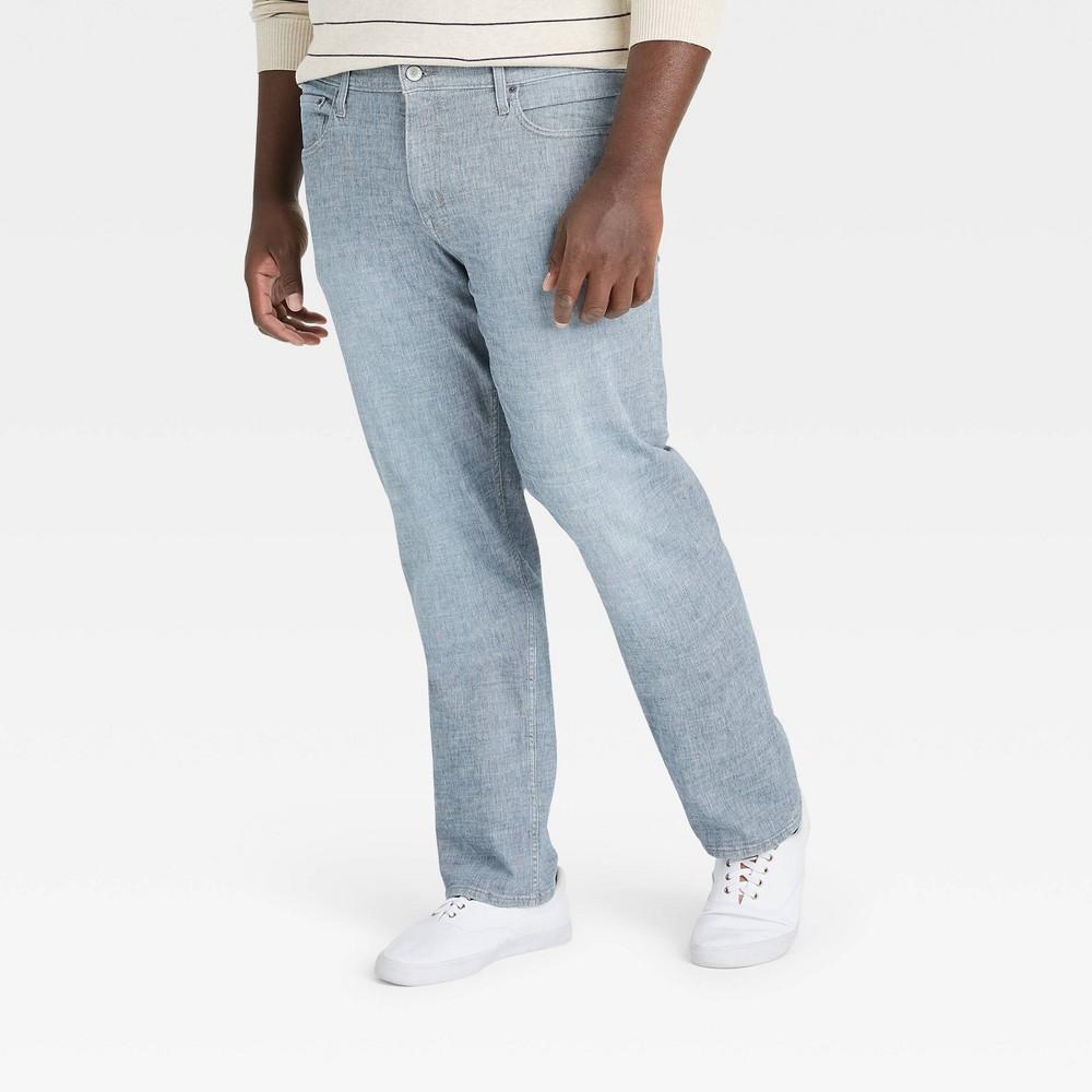 Men 39 S Big 38 Tall Straight Fit Lightweight Jeans Goodfellow 38 Co 8482 Indigo Blue 52x30