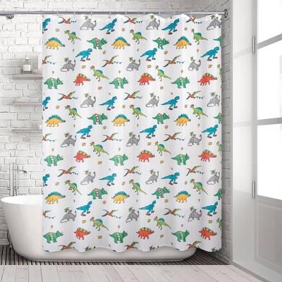 dinosaur shower curtain hooks target