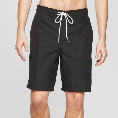 "Men's 9"" Swim Trunks - Goodfellow & Co™ Black"