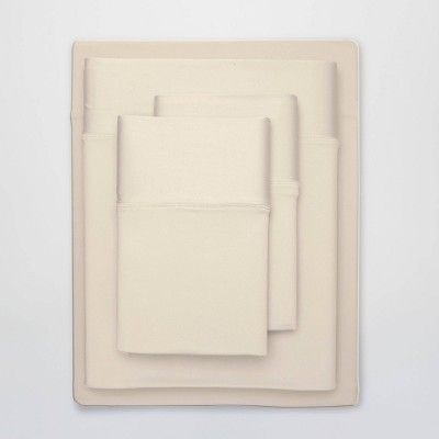 Queen Ultra Air Solid Sheet Set Ecru - SHEEX