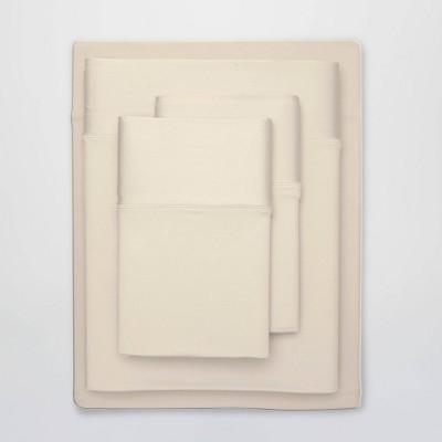 Split King Ultra Air Solid Sheet Set Ecru - SHEEX