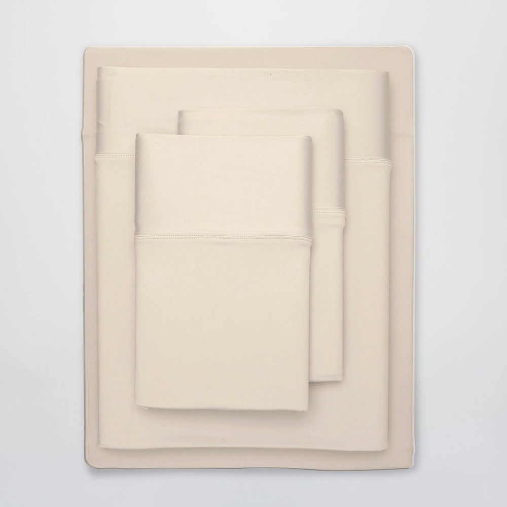 Image of Full Ultra Air Solid Sheet Set Ecru - SHEEX
