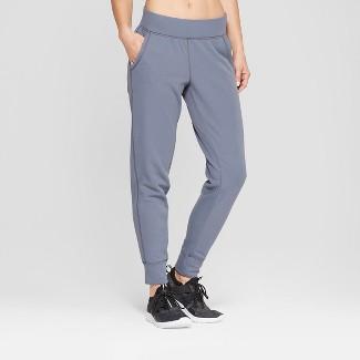 "Women's Tech Fleece Mid-Rise Pants 29"" - C9 Champion® Dark Blue M"